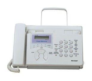 Факс SHARP FO51,  на термобумаге,  белый