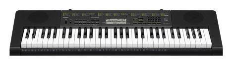 Синтезатор CASIO CTK-220, 61, невзвешенная, полноразмерные, 48, черный [ctk-2200]