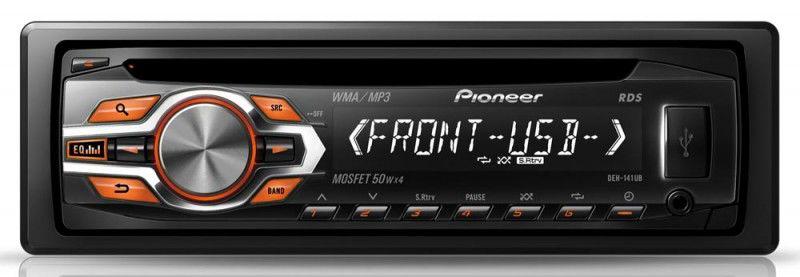 Автомагнитола PIONEER DEH-141UB,  USB