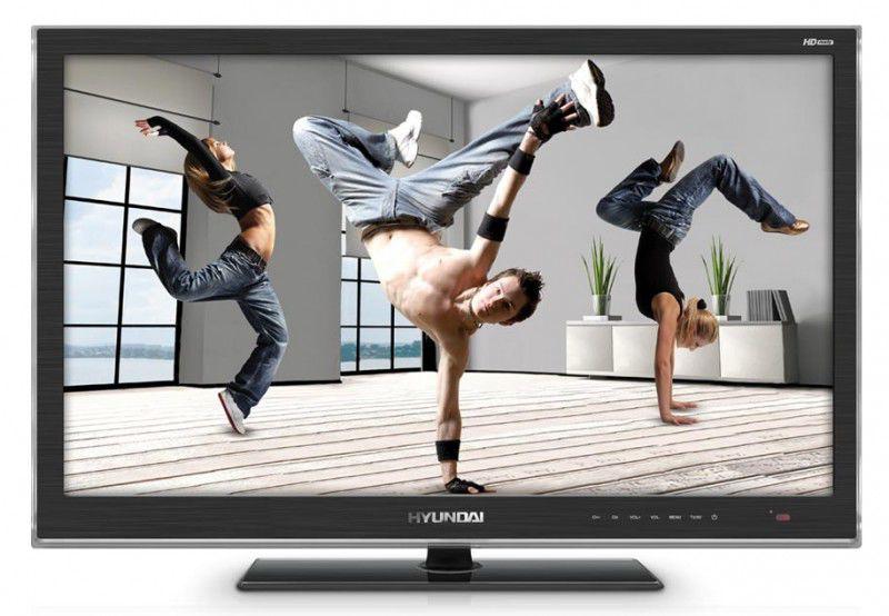 "LED телевизор HYUNDAI H-LED32V9  ""R"", 31.5"", HD READY (720p),  темно-серый"