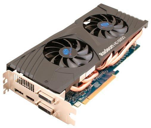 Видеокарта SAPPHIRE Radeon HD 6950,  2Гб, GDDR5, Ret [11188-xx-20r]