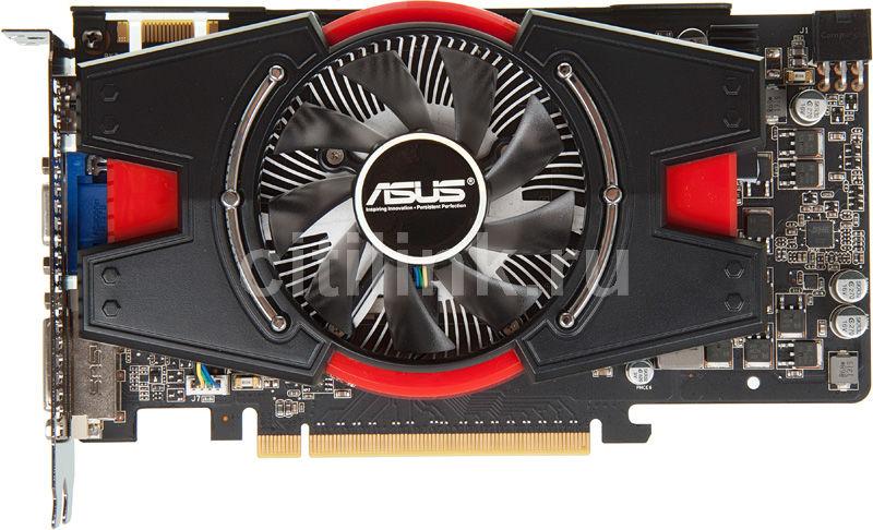 Видеокарта ASUS GeForce GTX 550Ti,  1Гб, GDDR5, Ret [engtx550 ti di/1gd5]