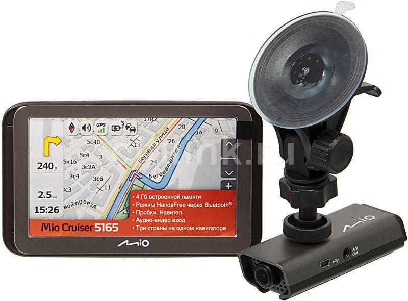 GPS навигатор MIO Mio Cruiser 5165 + видеорегистратор Mio MiVue 138,  5