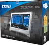 Моноблок MSI AE2211G-002, Intel Core i3 2100, 4Гб, 500Гб, nVIDIA GeForce GT540M - 1024 Мб, DVD-RW, Windows 7 Home Premium, белый [9s6ac7512002] вид 10