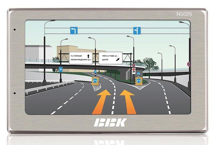 GPS навигатор BBK N5026,  5
