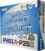 Материнская плата MSI PH61A-P35 (B3) LGA 1155, ATX, Ret вид 6