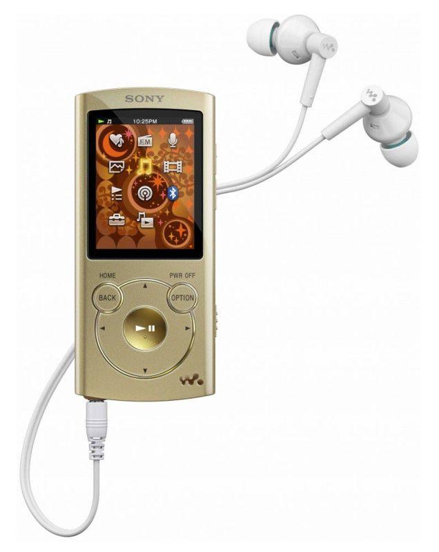MP3 плеер SONY NWZ-S764 flash 8Гб золотистый [nwzs764]