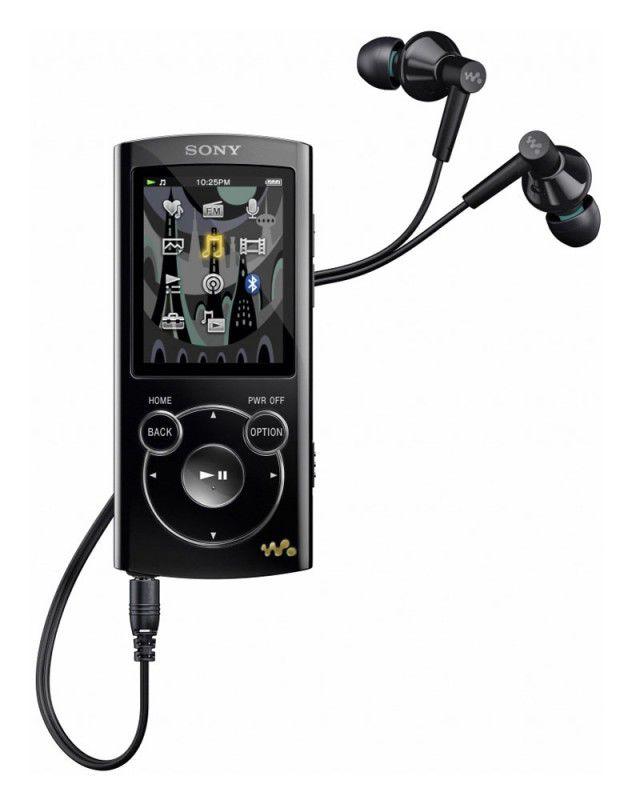 MP3 плеер SONY NWZ-S765 flash 16Гб черный [nwzs765]