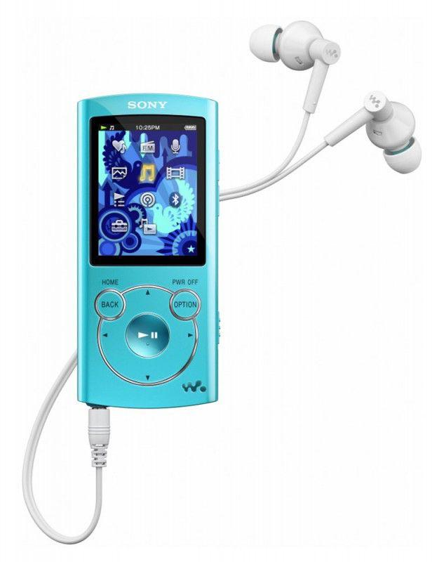 MP3 плеер SONY NWZ-S763 flash 4Гб голубой [nwzs763l]