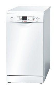 Посудомоечная машина BOSCH SPS 53M02RU,  узкая, белая [sps53m02]
