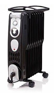 Масляный радиатор POLARIS PRE S 0715 H, 1500Вт, черный [pre s0715h]