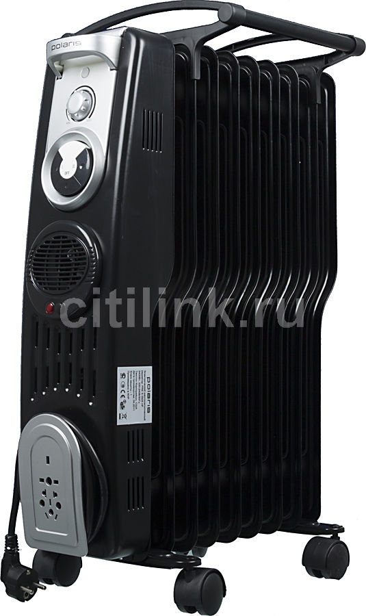 Масляный радиатор POLARIS PRE S0925HF, 2400Вт, черный