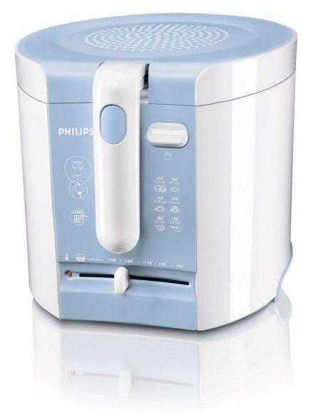 Фритюрница PHILIPS HD6103,  белый/голубой