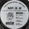 Колонки автомобильные MYSTERY Professional MF 5.2,  компонентные,  200Вт вид 4