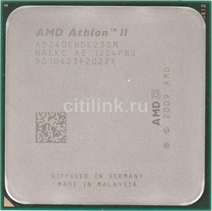 Процессор AMD Athlon II X2 240, SocketAM3 OEM [ad240ehdk23gm]