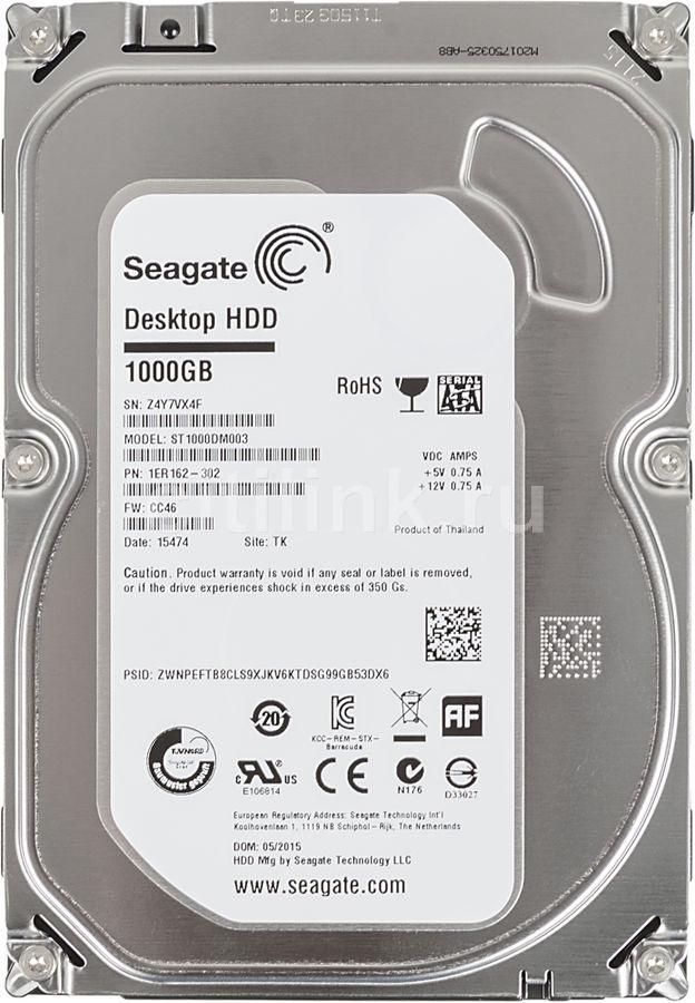"Жесткий диск SEAGATE Desktop ST1000DM003,  1Тб,  HDD,  SATA III,  3.5"""