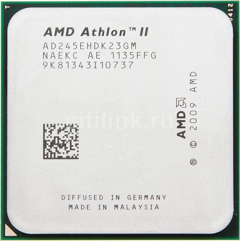 Процессор AMD Athlon II X2 245e, SocketAM3 OEM [ad245ehdk23gm]