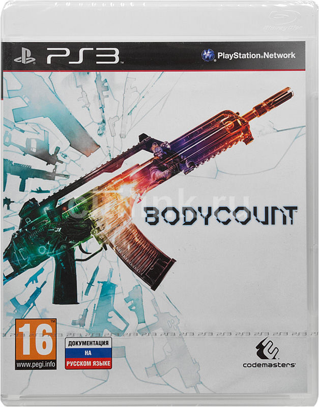 Игра SONY Bodycount для  PlayStation3 Rus (документация)