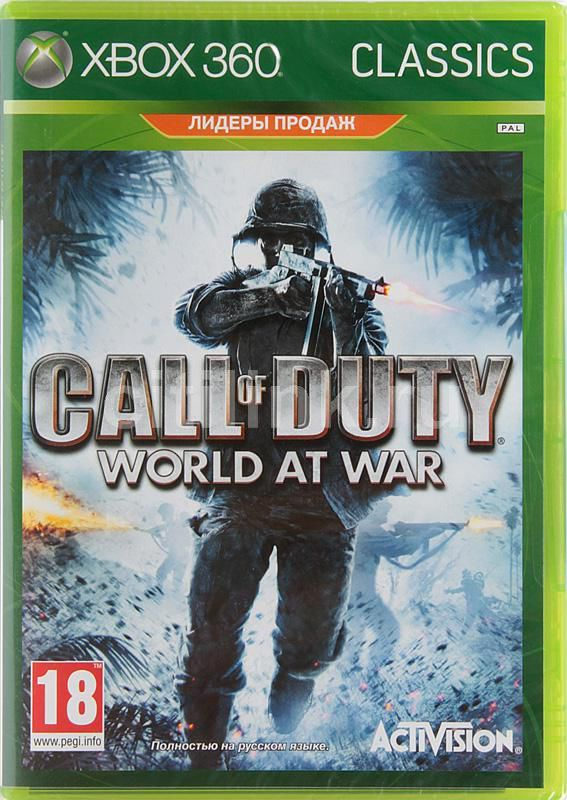 Игра MICROSOFT Call of Duty: World at War. Classics для  Xbox360 Eng