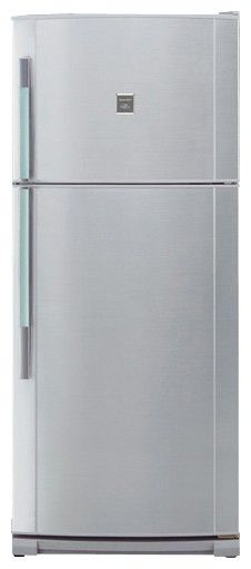 Холодильник SHARP SJ-692NSL,  двухкамерный,  серебристый
