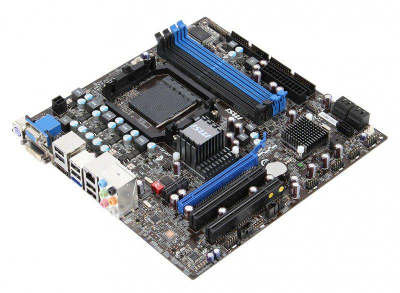 Материнская плата MSI 760GM-E51 (FX) SocketAM3+, mATX, Ret