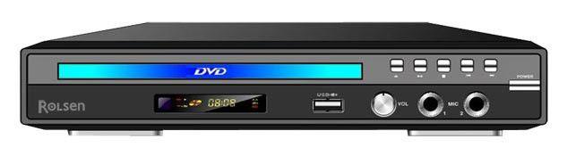 DVD-плеер ROLSEN RDV-2005,  черный