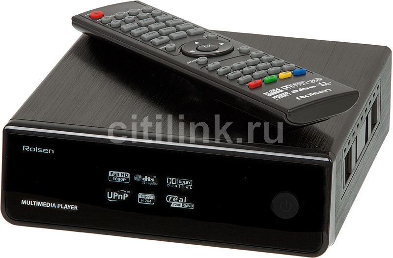 Медиаплеер ROLSEN FHD-M21,  черный