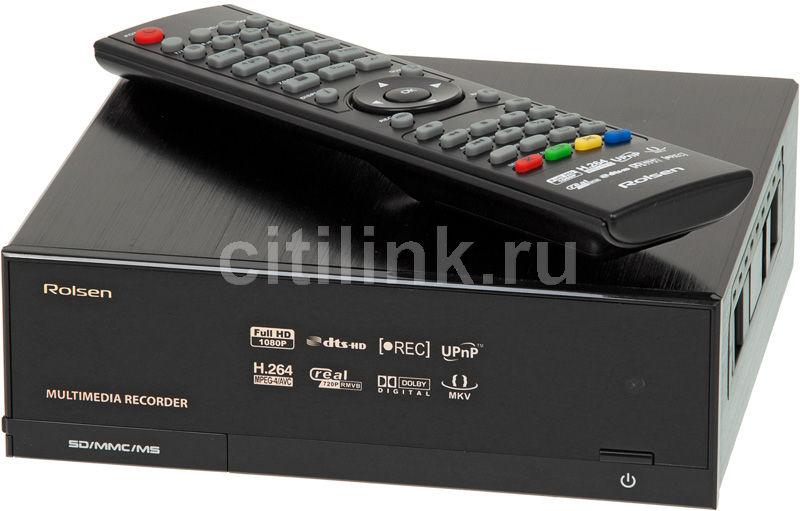 Медиаплеер ROLSEN FHD-M23,  черный