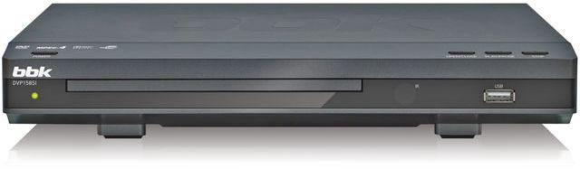 DVD-плеер BBK DVP158SI,  темно-серый