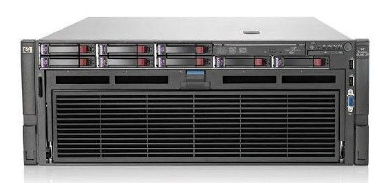 Сервер HP ProLiant DL580 G7 E7-4870 2.40GHz 10-core 4P 128GB-R P410i/1G FBWC 4x1200  (643063-421)