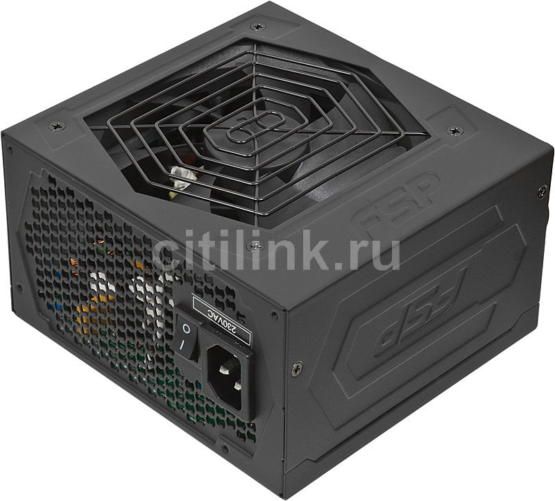 Блок питания FSP Hexa AXE550,  550Вт,  120мм,  черный, retail [hexa550]
