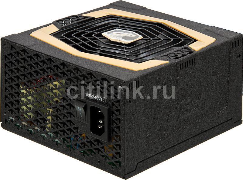 Блок питания FSP Aurum AU-750M,  750Вт,  120мм,  черный, retail