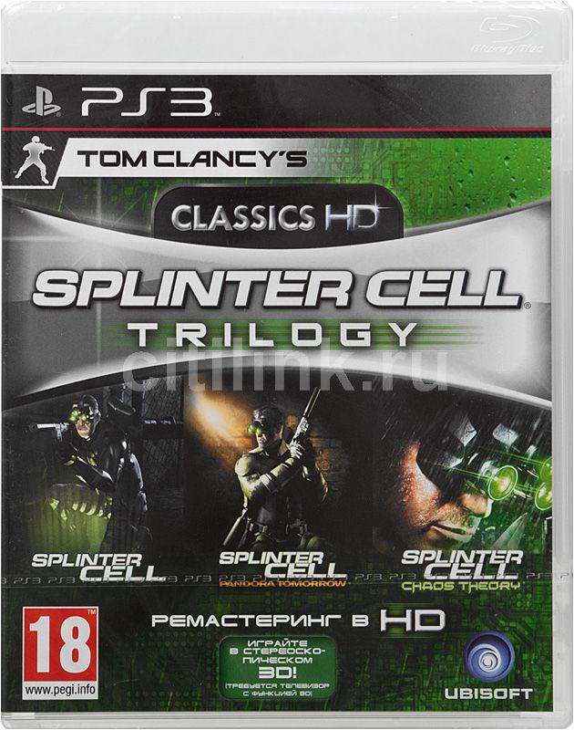 Игра SOFT CLUB Tom Clancy`s Splinter Cell Trilogy Classics HD для  PlayStation3 Eng