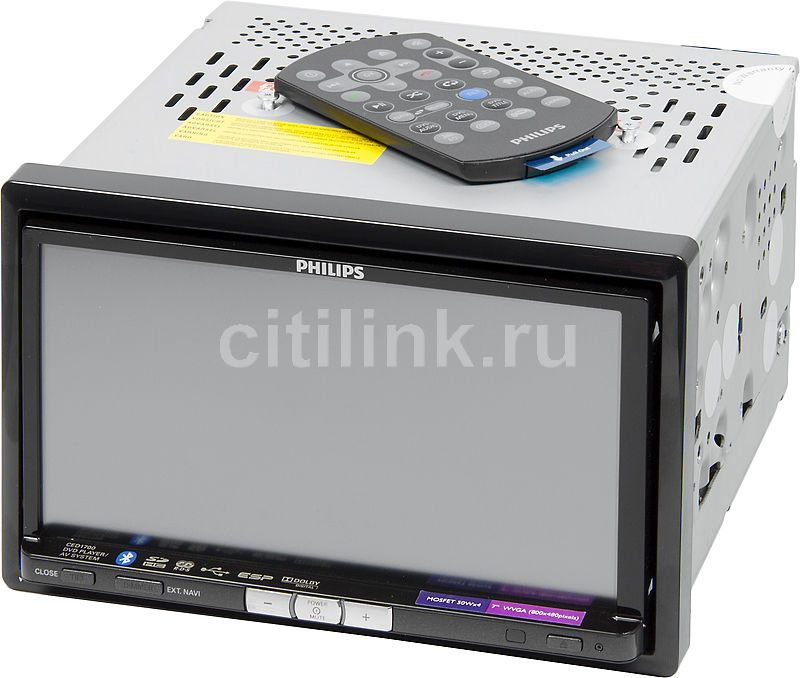 Автомагнитола PHILIPS CED1700/51,  USB,  SD