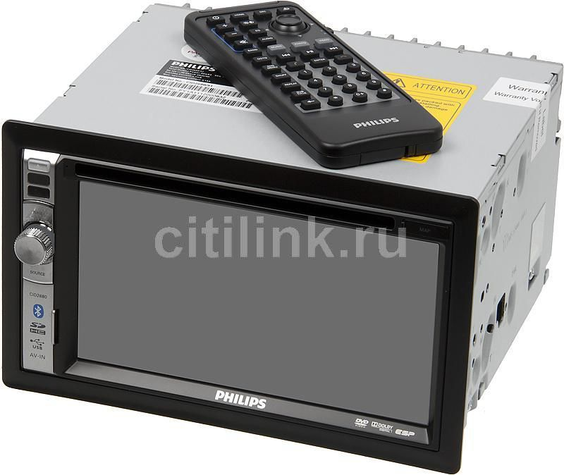 Автомагнитола PHILIPS CID2680/51,  USB,  SDHC