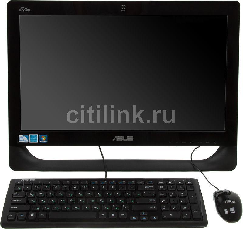 Моноблок ASUS ET2011E, Intel Pentium E5800, 2Гб, 500Гб, Intel GMA X4500, DVD-RW, Windows 7 Home Premium, черный [90pe3pa26212e60a9c0c]