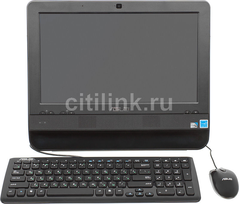 Моноблок ASUS ET1611PUT, Intel Atom D425, 2Гб, 250Гб, Intel GMA 3150, noOS, черный [90pe3xa21121l00a9c0q]