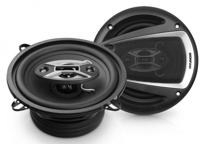 Колонки автомобильные HYUNDAI H-CSS504,  коаксиальные,  160Вт