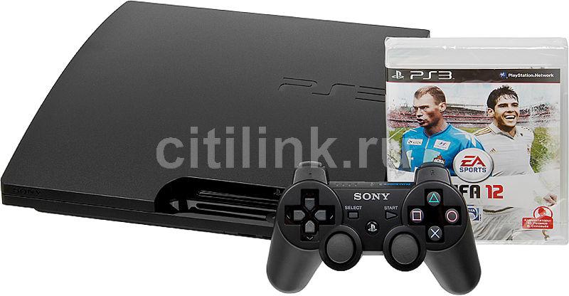 Игровая консоль SONY PlayStation 3 PS719213819, черный