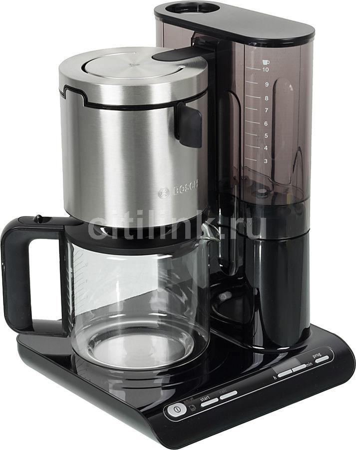 Кофеварка BOSCH TKA8633,  капельная,  черный