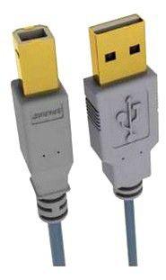 Кабель USB2.0  Sparks SG1190,  USB A (m) -  USB B (m),  GOLD ,  ферритовый фильтр ,  1.8м