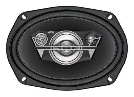 Колонки автомобильные JVC CS-V6947,  коаксиальные,  350Вт