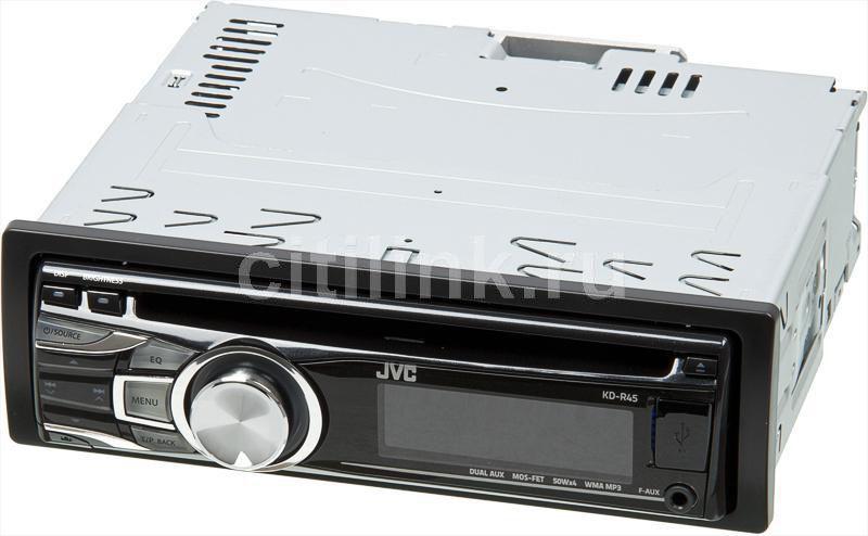 Автомагнитола JVC KD-R45,  USB