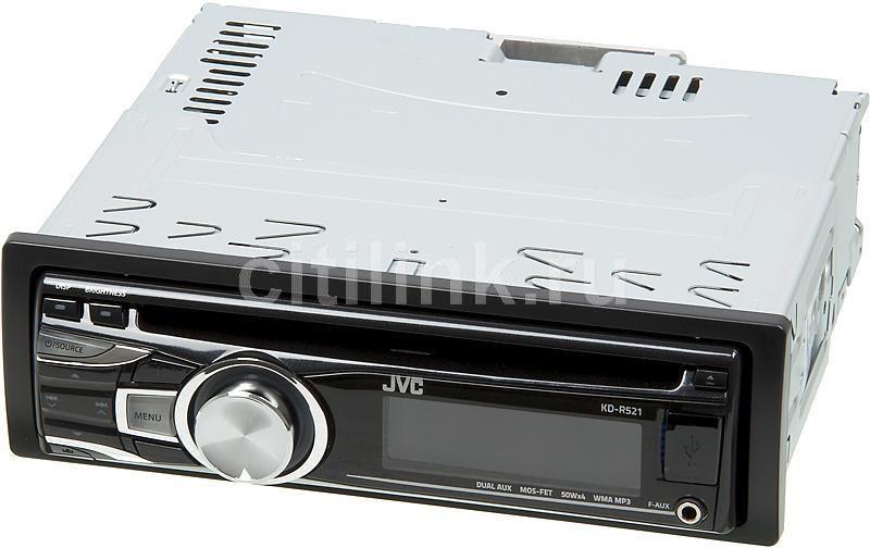 Автомагнитола JVC KD-R521,  USB