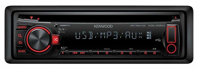 Автомагнитола KENWOOD KDC-4051URY,  USB