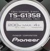 Колонки автомобильные PIONEER TS-G1358,  коаксиальные,  200Вт вид 3