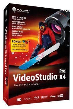ПО VideoStudio Pro X4 Mini BOX [vsprx4rumb]