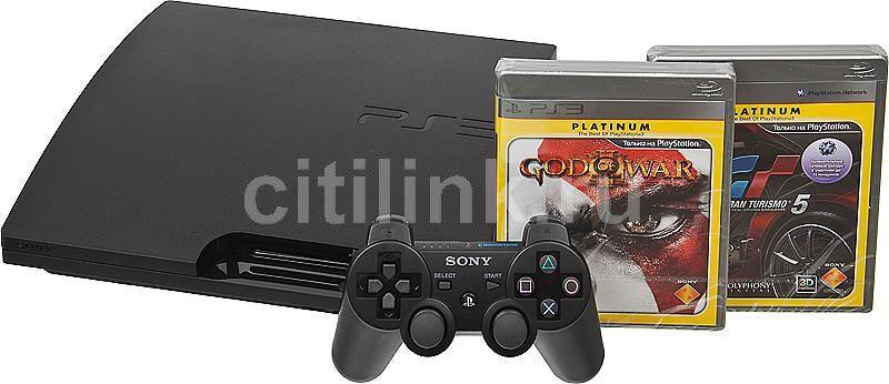 Игровая консоль SONY PlayStation 3 PS719249818, черный