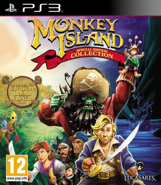 Игра SONY Monkey Island Special Edition Collection для  PlayStation3 Eng