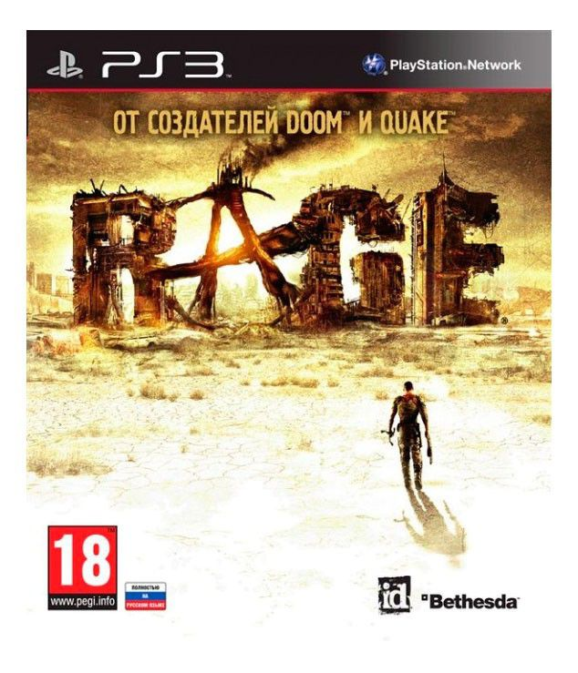 Игра SONY RAGE для  PlayStation3 Rus